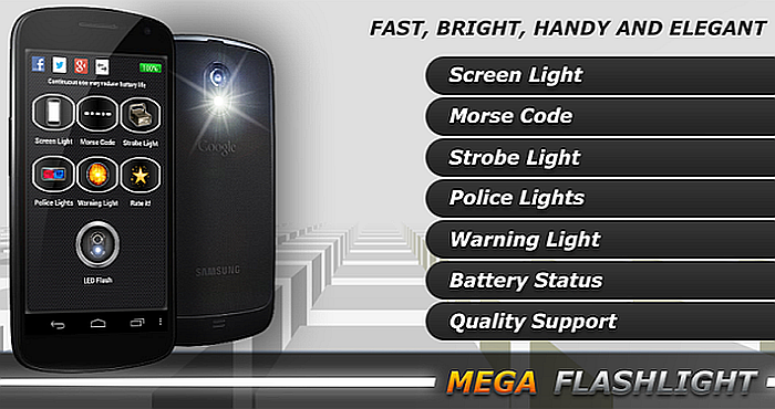 Mega Flashlight for Android